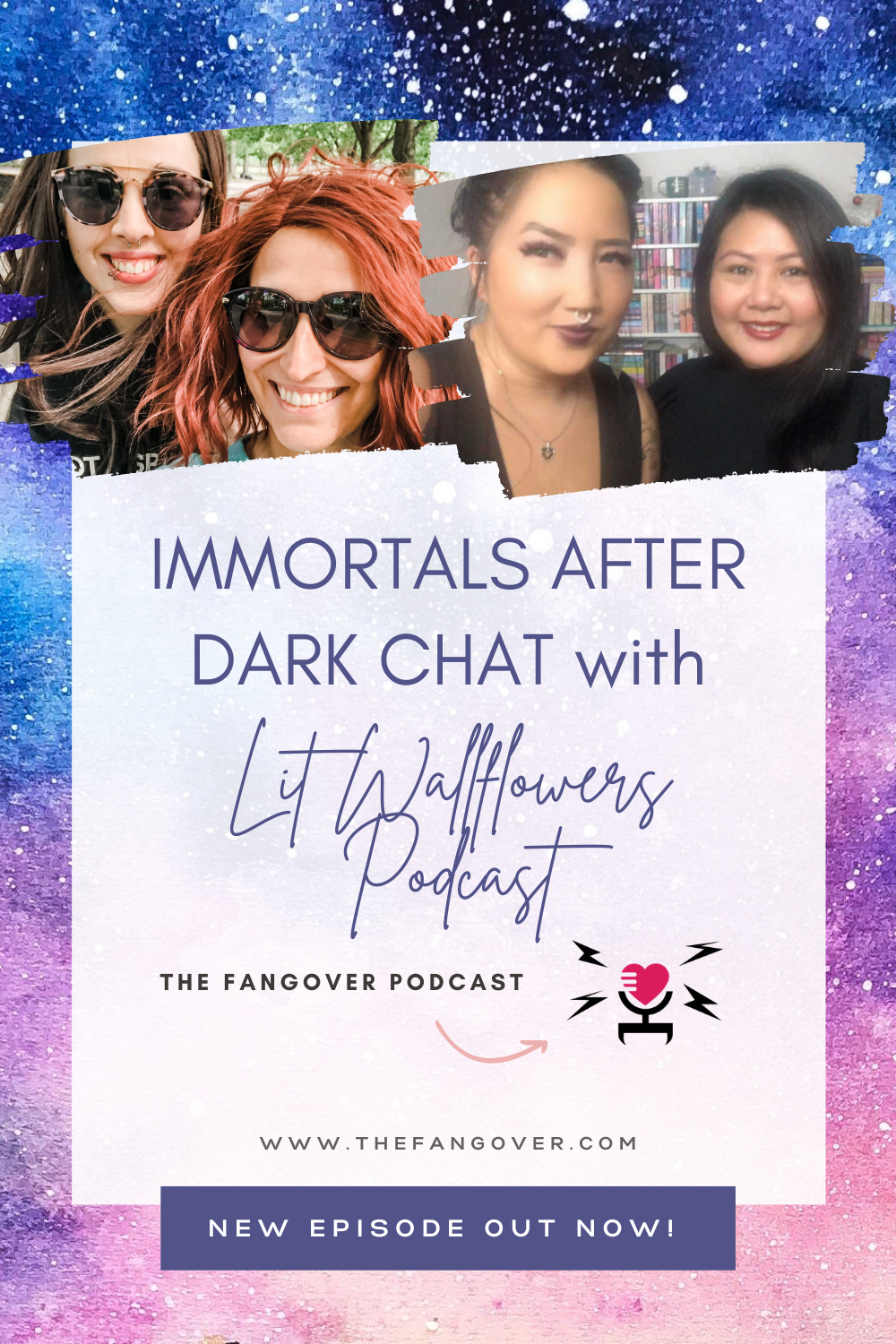 S2 E17 Immortals After Dark Chat with Lit Wallflowers Podcast