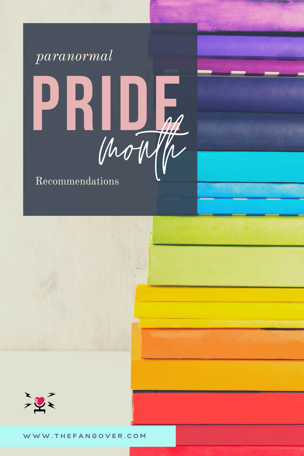 Pride Month Paranormal/Fantasy Recommendations